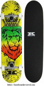 Krown Rookie Graphic Complete Skateboard