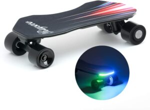 Skateboard électrique Teamgee Rayscoo H2J