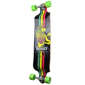 Yocaher Professional Speed Drop Down Complete Longboard Skateboard