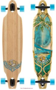 Sector 9 Bamboo Lookout Drop Through Complete Longboard Skateboard