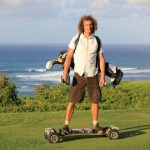 Are skateboard-type golf carts legal on public courses