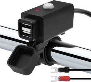 GoHawk Waterproof SAE to Dual USB Charger Adapter Kit Cable